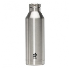 Mizu V8 - Stainless with Black Stainless