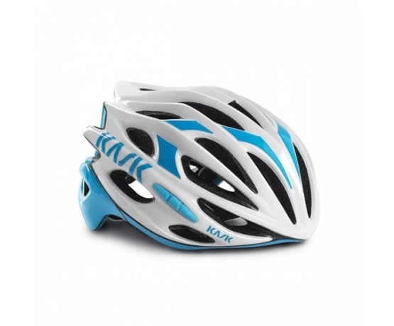 přilba KASK Mojito 16 white/light blue M/52-58cm