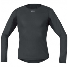 GORE M WS Base Layer Thermo L/S Shirt-black