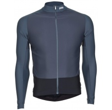 Essential Road Mid LS Jersey Francium Multi Grey