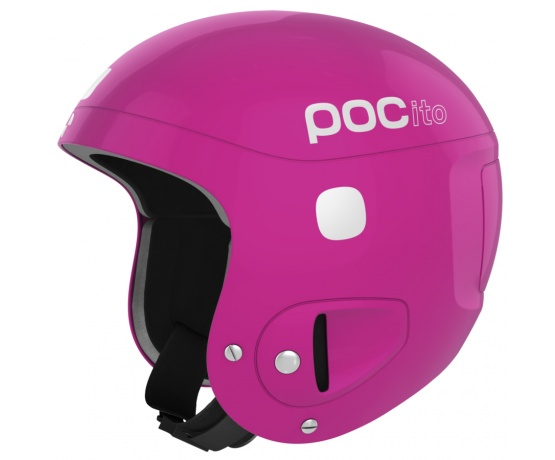 POCito Helmet Fluorescent Pink Adjustable