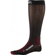 Run Energizer Socks Dark Ruby/Opal Black