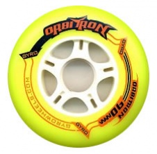 Orbitron 110mm/86A Yellow, 1pck