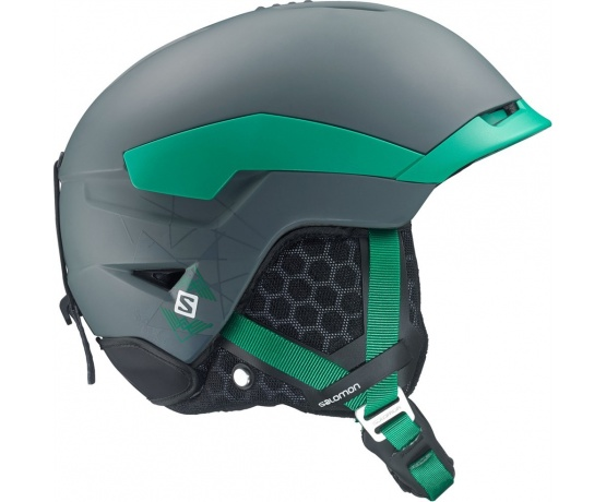 lyž.helma SAL.Quest black grey/green L 14/15