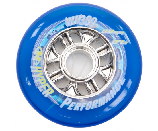 NX360 84mm/84A Clear Blue, 4pck